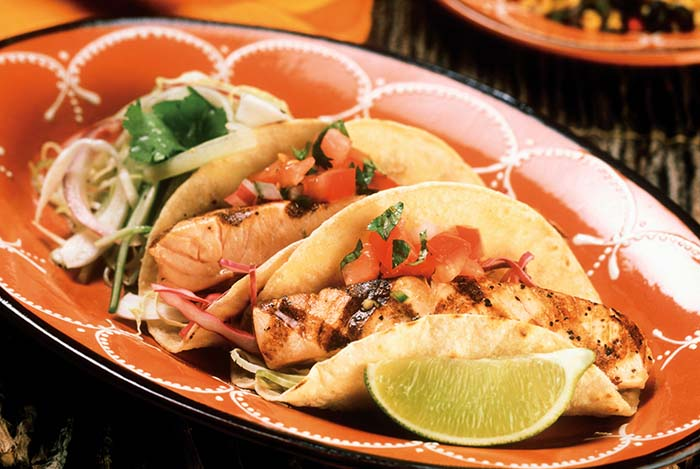 Fish Tacos from Teaching Vegas How to Eat by The Light Group