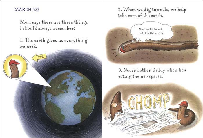 Diary of a Worm is a great example of an engaging children's book for both kids and their parents