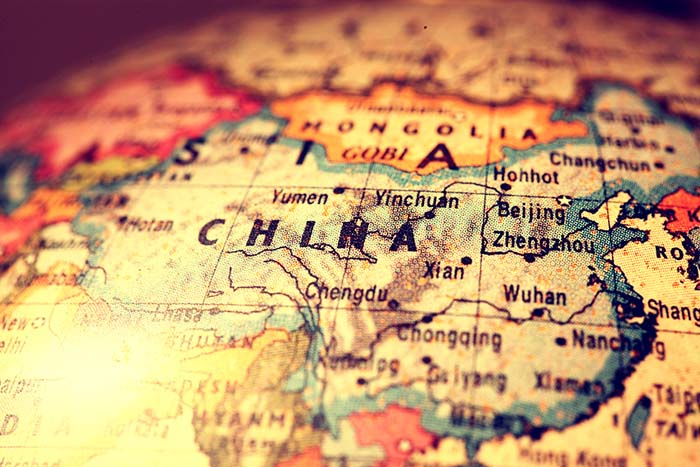 Map of China - China book printing