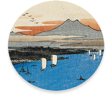 Painting from The Floating World: Ukiyo-e Prints from the Wallace B. Rogers Collection—Callawind specializes in publishing coffee table art and photography books